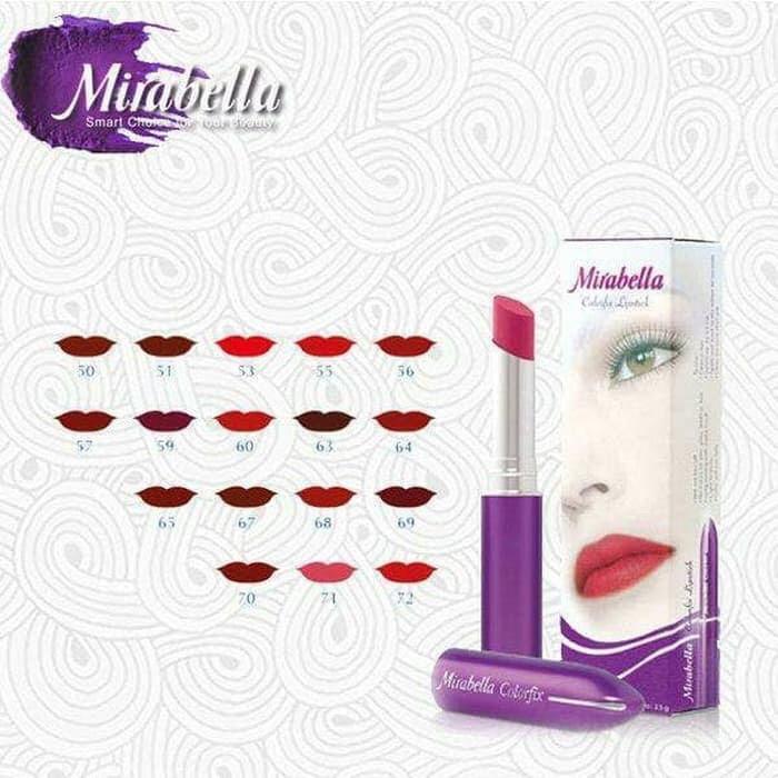 Harga Lipstik Matte Mirabella Travelbon.com