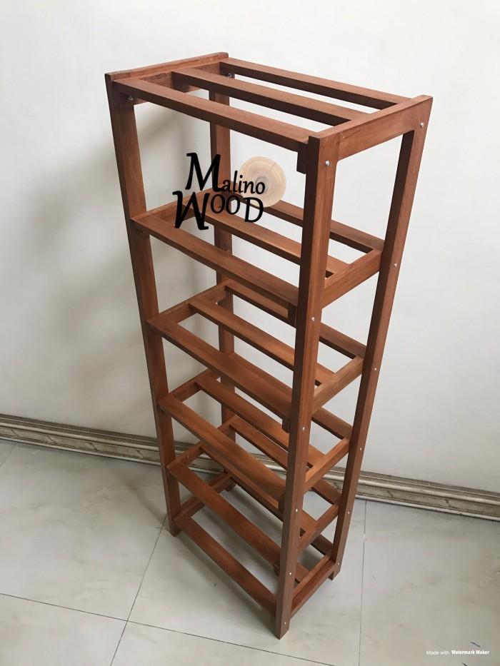 Jual Rak sepatu kayu 6 tingkat coklat - Kota Surabaya ...