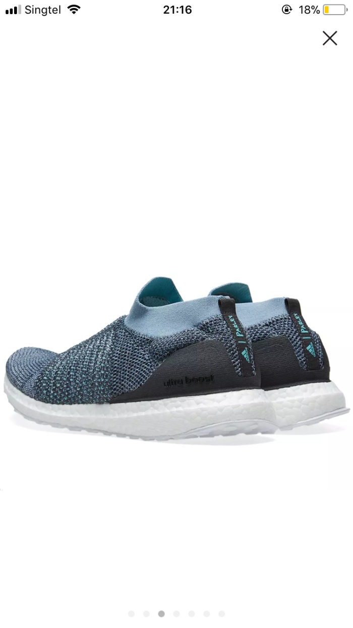 6281f66a9 Jual AUTHENTIC ADIDAS ULTRA BOOST LACELESS PARLEY - Flex Society ...