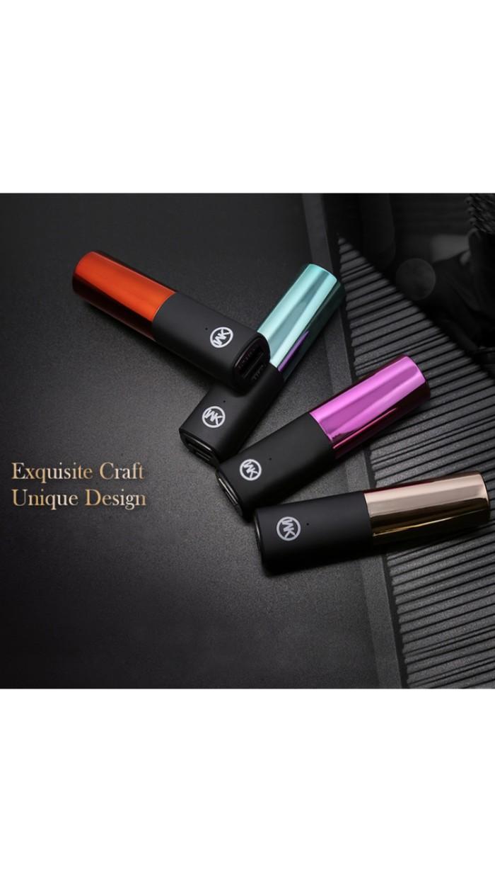 harga Powerbank lipstik 2400 mah Tokopedia.com