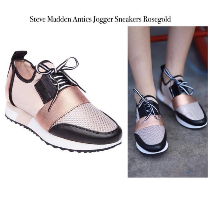 2f23142a150 Jual Steve Madden Antics Jogger Sneakers Rosegold - Kab. Sidoarjo -  Fossil lovers