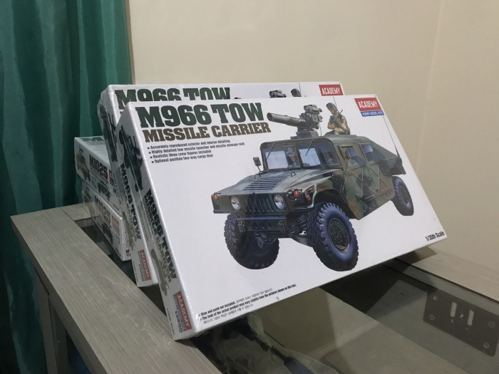 harga Bnib academy model kit m966 tow missile carrier Tokopedia.com