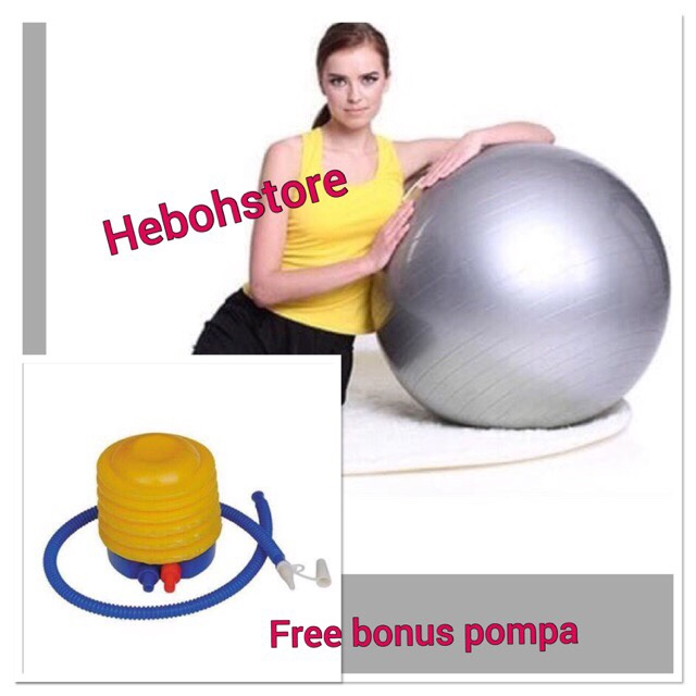 harga Gymball bola senam 75 cm unistar bonus pompa original Tokopedia.com