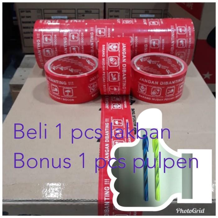 Foto Produk LAKBAN MUSCLE BONUS 1 pulpen jangan dibanting dari hsienmei
