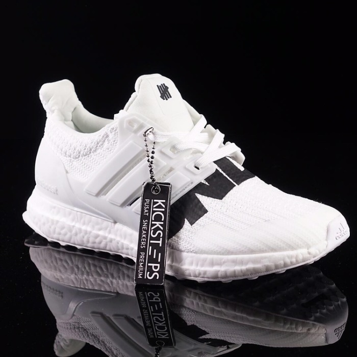 "1ff27abbd9d77 Adidas - UB x Undefeated ""Full White"" (100% Realpict by Kicksteps)"