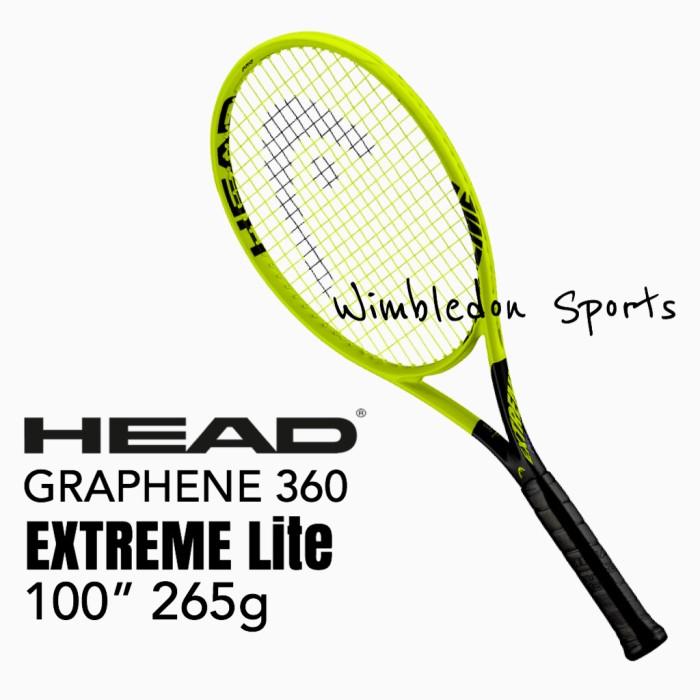 265g Authorized Dealer *NEW* HEAD EXTREME LITE tennis racquet