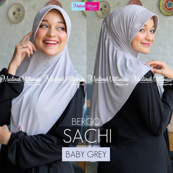 Jual Hijab Bergo Sachi Bahan Jersey Soft Bergo Pet Jakarta Barat Murena Tokopedia