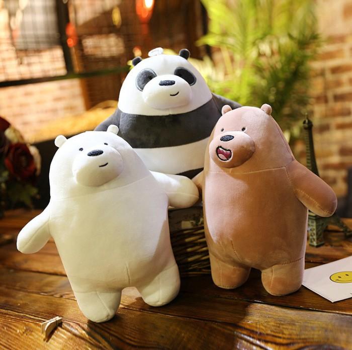 Foto Produk boneka we bare bears 50cm miniso panda jumbo import dari cutePeppa