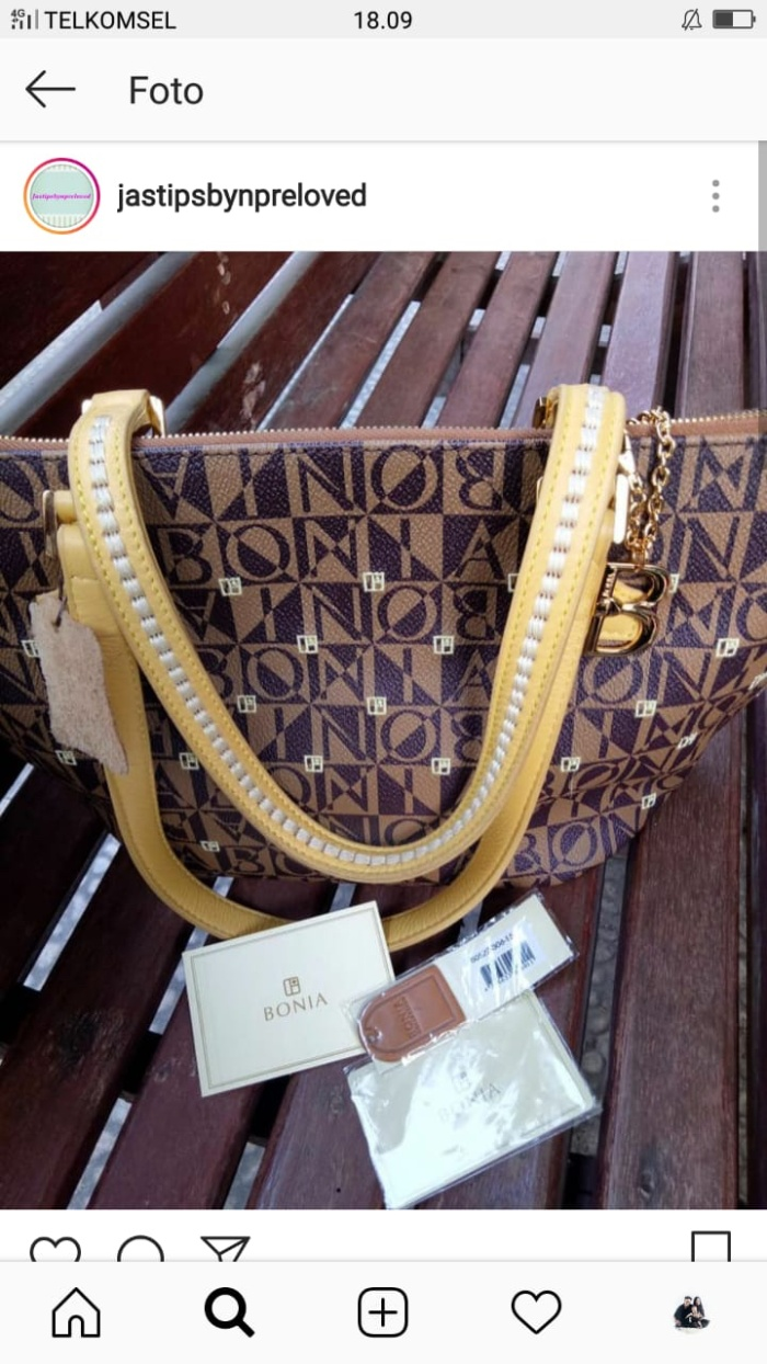 6668780620 Jual SOLD Bonia tote bag Preloved authentic - Kota Surabaya ...