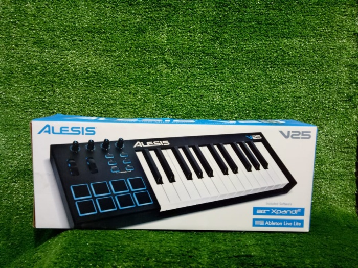 harga Alesis v25 - usb midi keyboard controller 25 keys Tokopedia.com