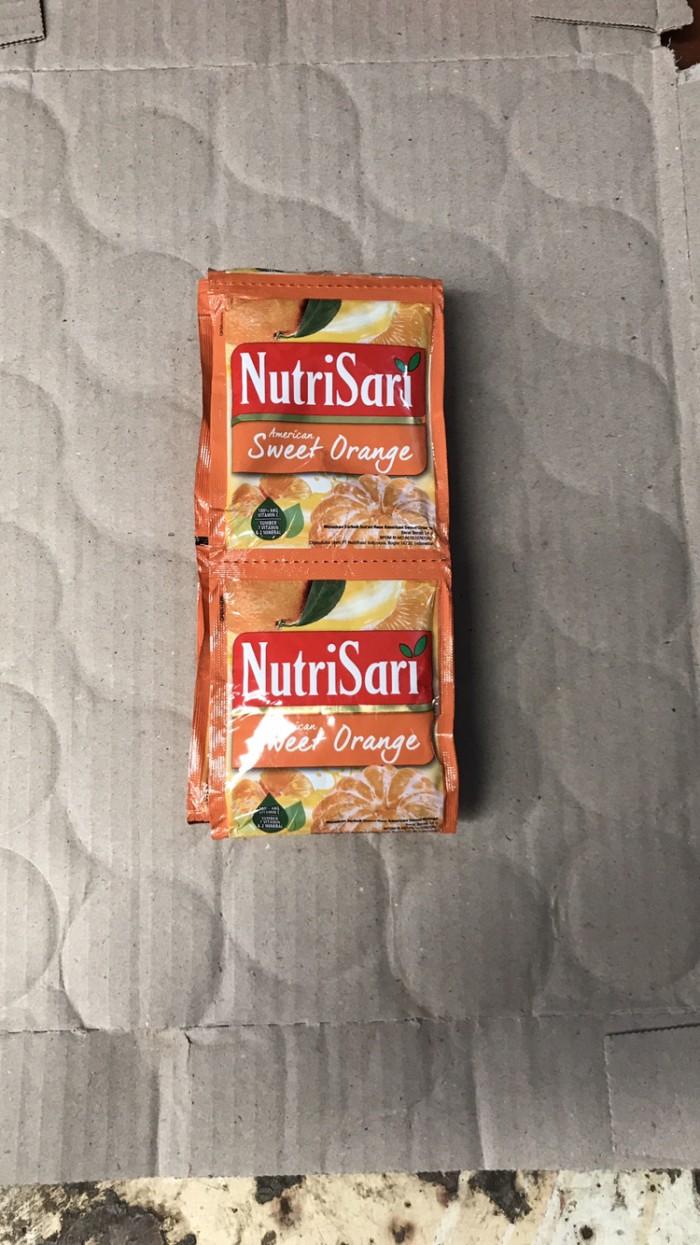 Jual Nutrisari American Sweet Orange 1 Renceng 10 Sachet Sashet Jeruk Jakarta Selatan Ben Motoshop