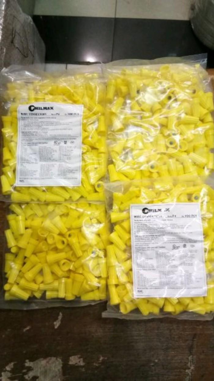 Lasdop ukr 2.5mm-4mm warna kuning merk Philmax