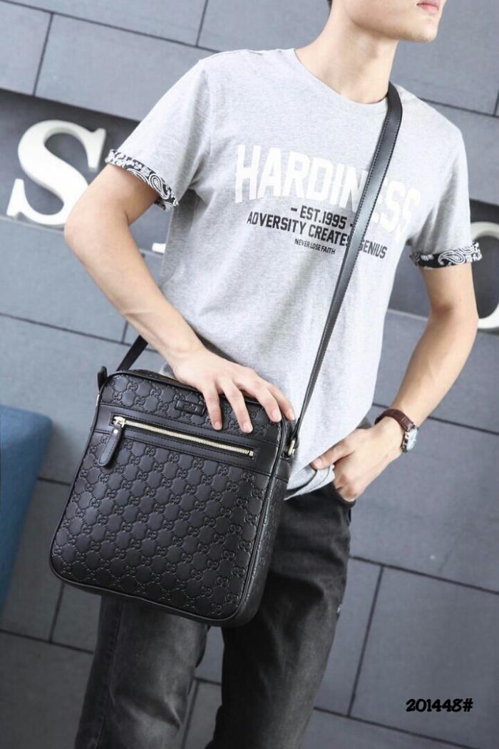 0646a82f7d4c Jual Gucci GG Signature Leather Messengers Bag 201448# - Kota Batam ...