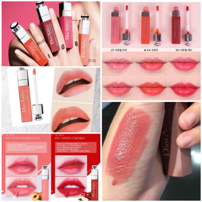 Jual Dior Lip Tattoo Peach 251 Kab Deli Serdang Beautyessential Tokopedia