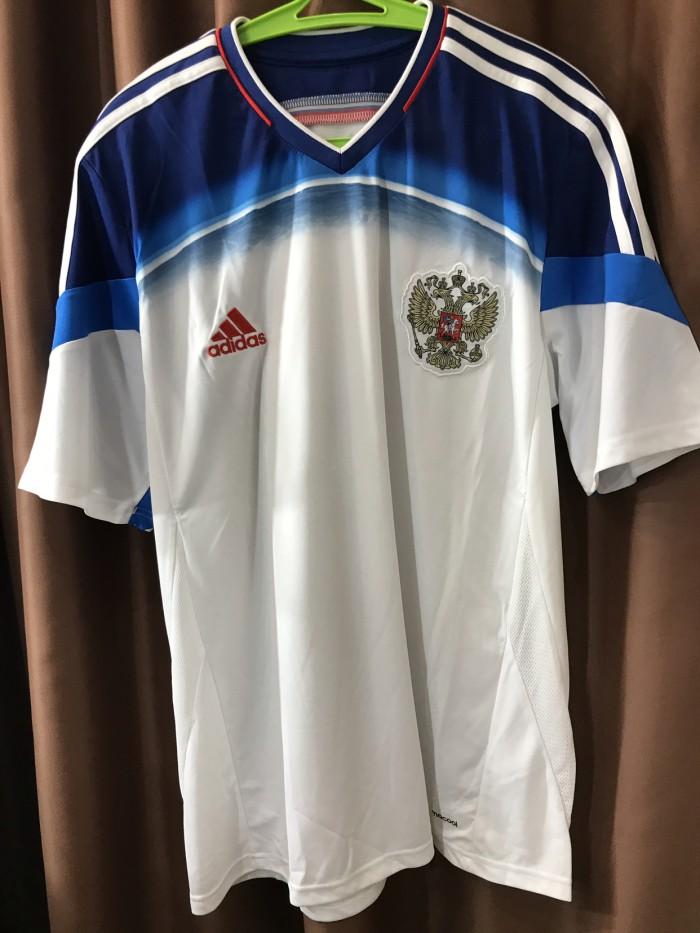 official photos e31d8 5957e Jual Adidas Jersey Russia Away world cup 2014 - Jakarta Barat - maxxgame |  Tokopedia
