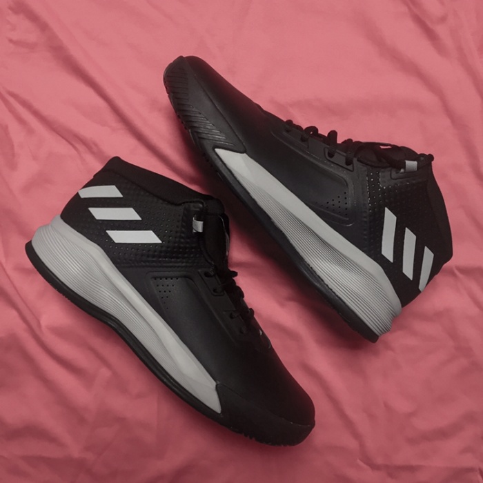 purchase cheap 0b279 2e686 Sepatu Original Adidas Basketball D Lillard Brookfield Black Grey BNIB