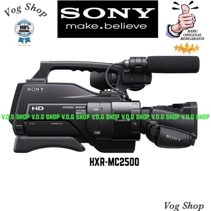 harga Handycam sony hxr-mc2500 - sony mc-2500 Tokopedia.com
