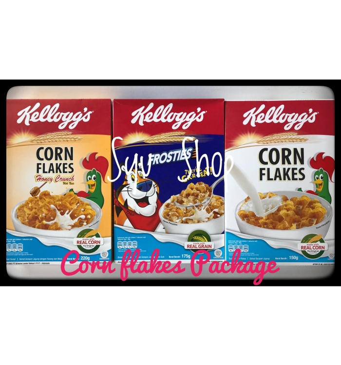 harga Kellogs kelloggs frosties corn flakes package Tokopedia.com