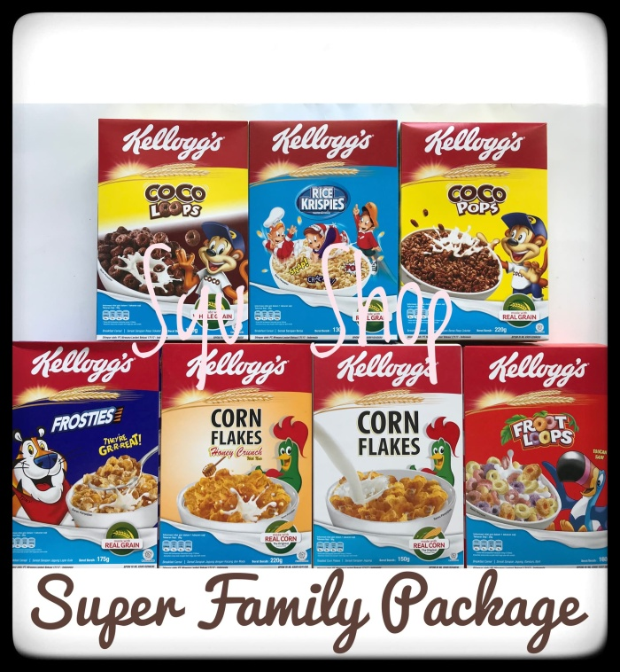 harga Kellogs kelloggs super family package cereal Tokopedia.com