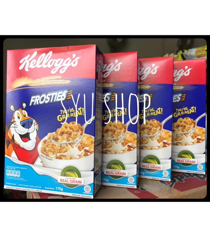 harga Kellogs kelloggs frosties 175 gr special package cereal Tokopedia.com