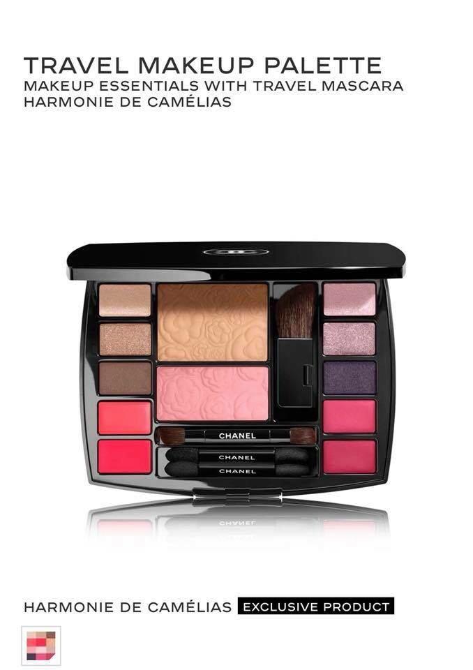 a682b93af5a Jual Chanel Travel Makeup Palette Harmonie De Camelias  Chanel ...