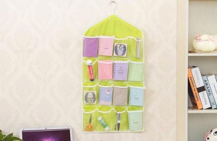 Pouch sekat 16 underwear korean pouch storage organizer serbaguna