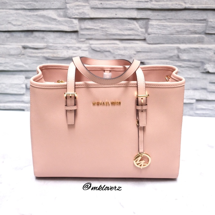 9de1a0307abe Jual Michael Kors Jet Set EW Medium Satchel (Soft Pink) - Kota ...