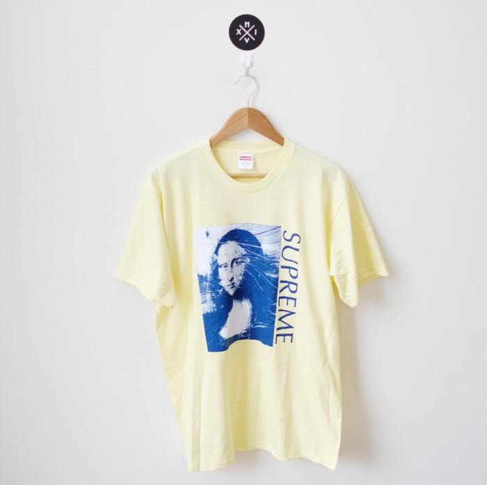 38aa2f3f9ea9 Jual Supreme Monalisa Mona Lisa Pale Yellow 100% ORI - Kab ...