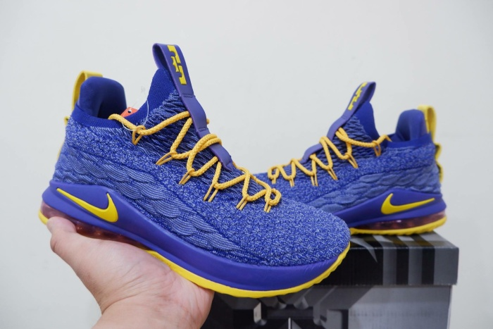 new concept 03579 ff7b0 Jual Nike Lebron 15 Low Blue Yellow - Kota Batam - RR7 Shop | Tokopedia