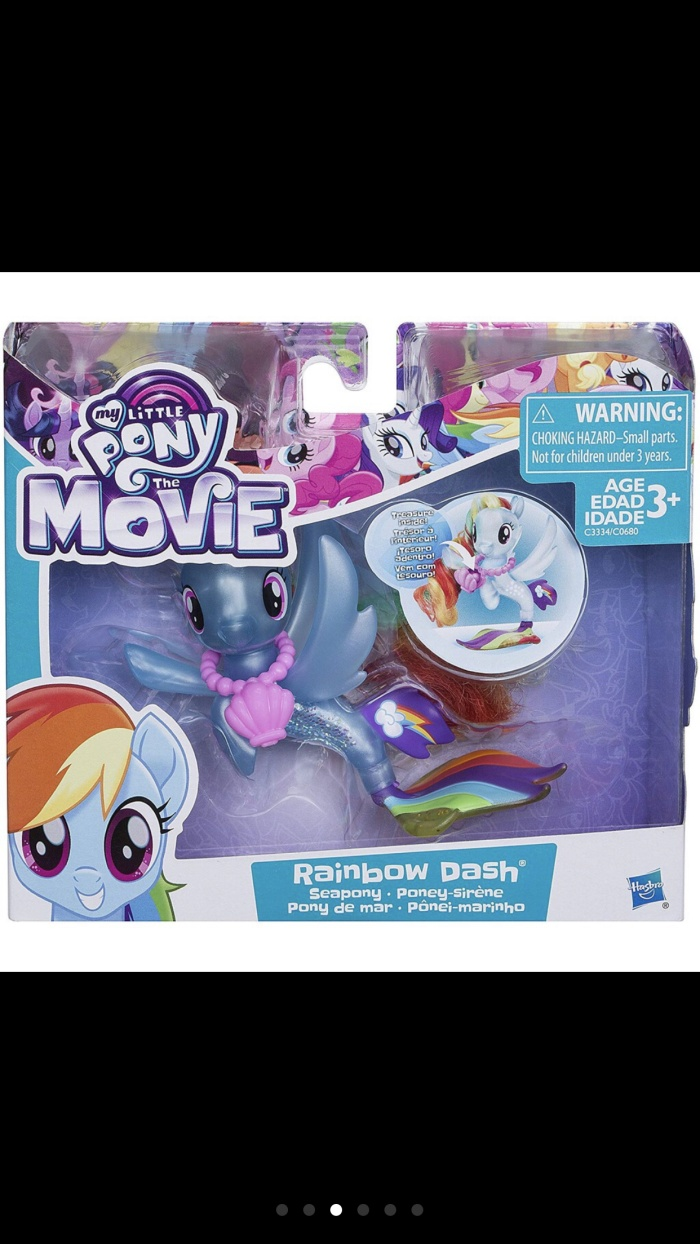 Jual My Little Pony The Movie Seapony Rainbow Dash Jakarta Barat Wikabo