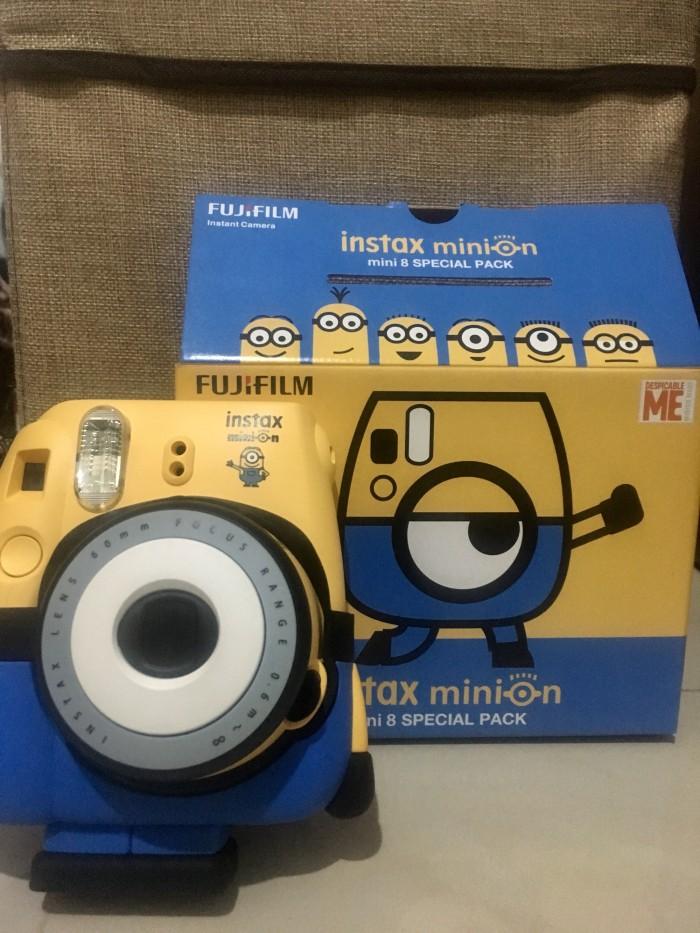 Foto Produk Fujifilm Instax Mini 8 SPECIAL PACK: MINION dari nolongerminee