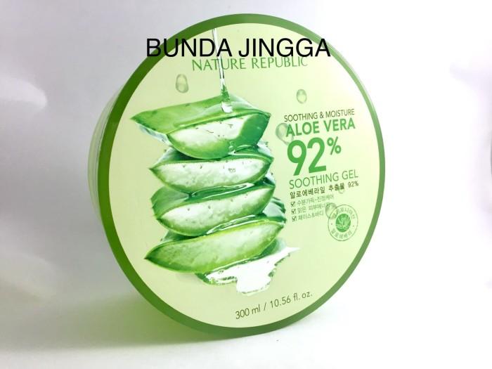 Nature Republic Aloe Vera soothing 92 % Original 100%