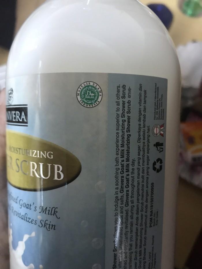 Sabun Susu Kambing + Scrub Ginvera