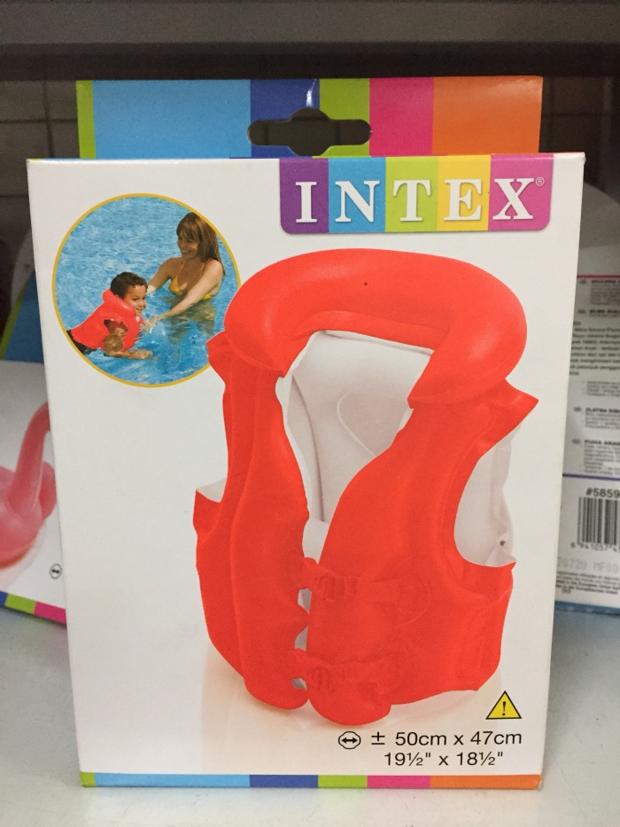 Intex life vest 58671 / pelampung rompi / ban renang