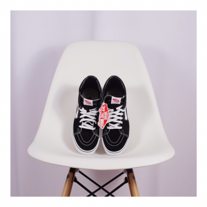 ... harga Vans sk8 hi black and white Tokopedia.com 6ddafb1ca
