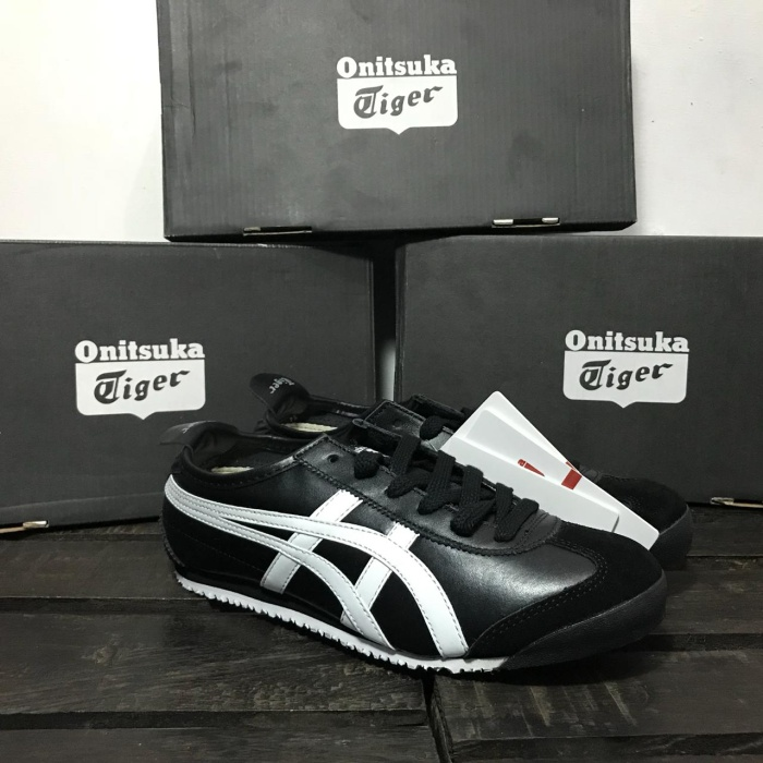 online store ca816 4e560 Jual Onitsuka Tiger Mexico 66 Black White - Jakarta Timur - kitstore.id |  Tokopedia