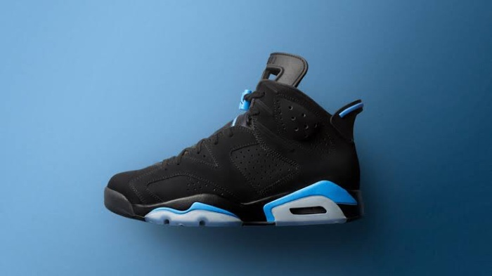 3b468b6085e Jual Air Jordan 6 Retro UNC Black/University Blue - PengkiStore ...