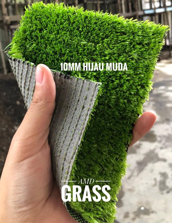rumput sintetis/palsu tinggi 10mm