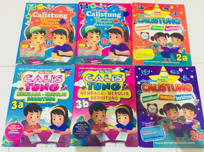 Foto Produk Paket Buku Calistung 1A1B 2A2B 3A3B Isi 6pcs Untuk Anak TK/SD Kls 1 dari Toko Buku dan Stationery
