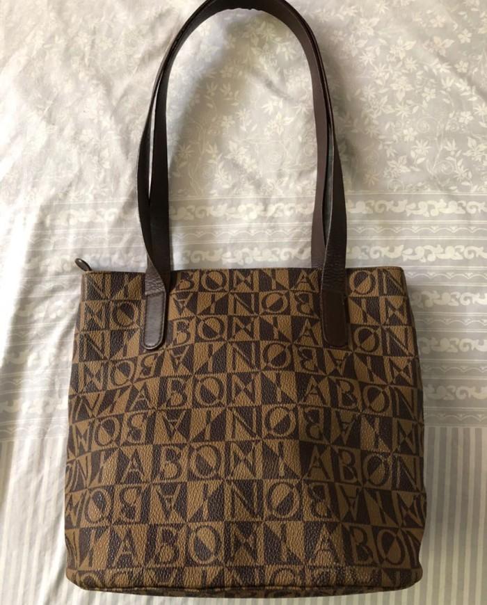 112806cdb2 Jual Bonia authentic tote bag - as_preloved04 | Tokopedia
