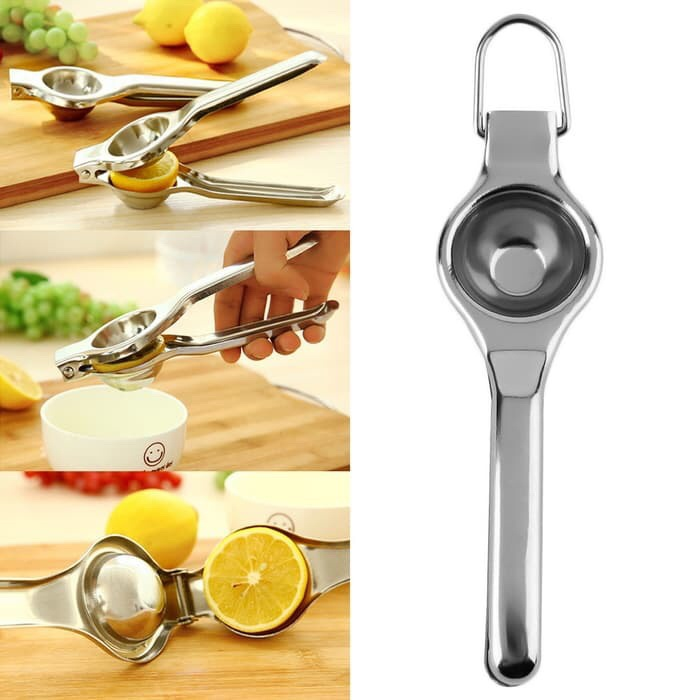 harga Alat pemeras peras jeruk lemon lime stainless steel squeezer juicer Tokopedia.com