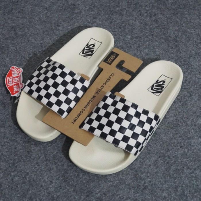 b72b66df44d8 Jual Vans Slide On Checkerboard ORIGINAL Sandal Vans - Kota Bandung ...
