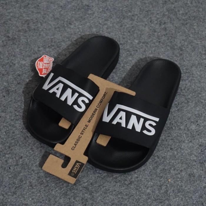 aa1ec7bbd741 Jual Vans Slide On Black ORIGINAL Sandal Vans - Kota Bandung ...