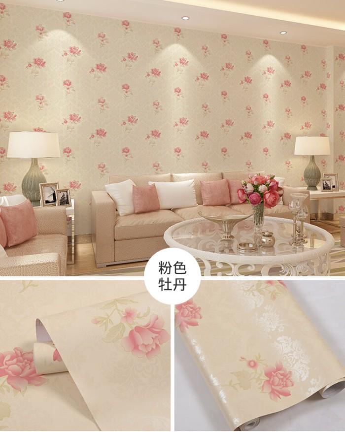 Jual Wallpaper Dinding Shabby Dasar Krem Kota Tangerang Adamshop1 Tokopedia