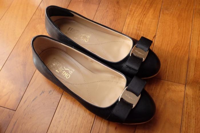 01e7a3fcd2 Jual Preloved salvatore Ferragamo flat shoes - DKI Jakarta - second ...