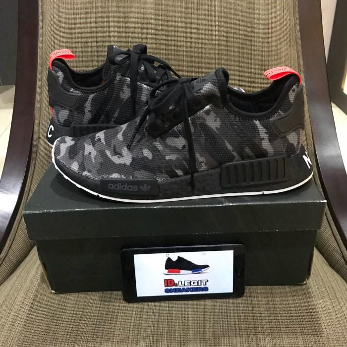 1ceab658503ce Jual Sepatu adidas nmd r1 NYC black red white camo original - Kota ...