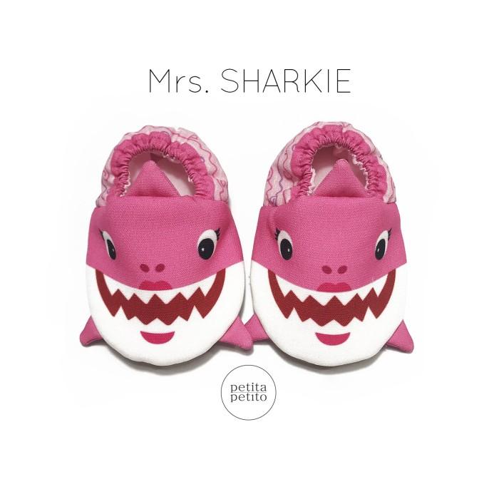 Pink Shark (Mrs. Sharkie) Baby Shoes   Sepatu Bayi - XS