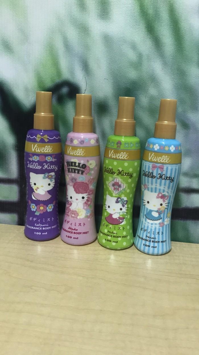 Jual Vivelle Hello Kitty Fragnance Body Mist Parfumeparfumpewangi