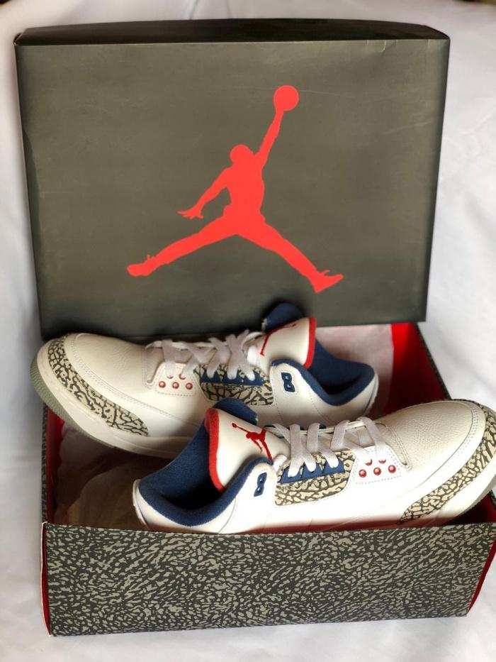 224476aa45a52d Jual Nike Air Jordan 3 Retro OG True Blue - Archelaus