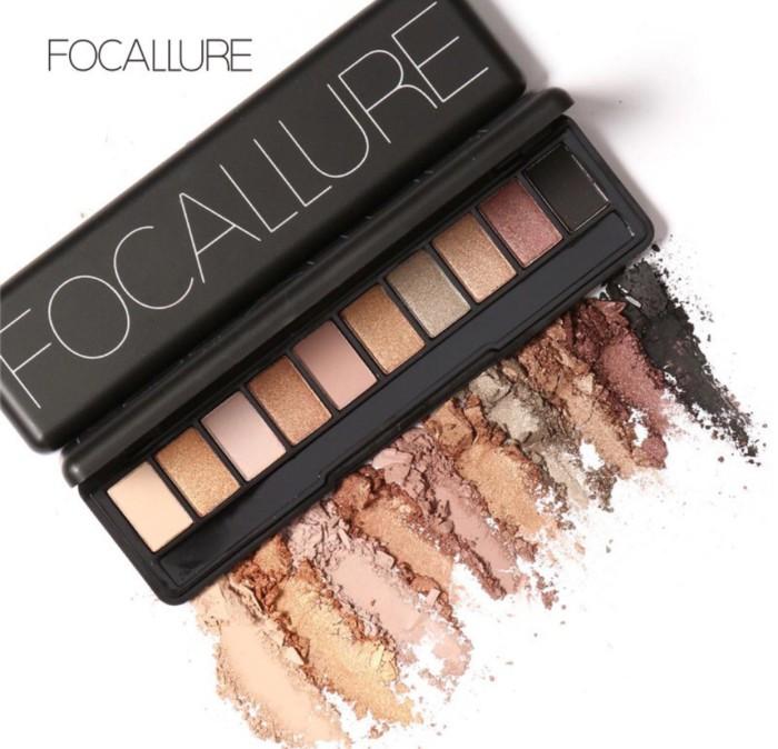Focallure eyeshadow 10 colour original 100%